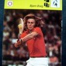 1977-1979 Sportscaster Card Tennis Bjorn Borg 09-21