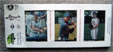 1991 Classic Best NY Mets Down on the Farm Minor League Sets