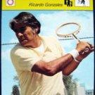 1977-1979 Sportscaster Card Tennis Ricardo Gonzales 16-18
