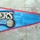 Philadelphia 76ers NBA Basketball Pennant Wincraft USA