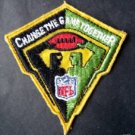 "Change the Game Together Patch NFL Football 3"" x 2 1/2"""
