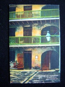 New Orleans Louisiana Courtyard & Prison Rooms Cabildo Post Card