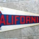 "California Angels Baseball Pennant 1970s  MLB Logo Full Size 29 1/2"" x 12"""