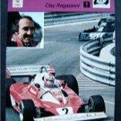 1977-1979 Sportscaster Card Auto Racing Clay Regazzoni 04-01