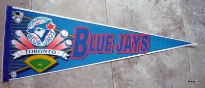 Toronto Blue Jays New Baseball Pennant 1990's Wincraft