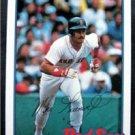 1989 Topps Baseball Talk Card Mike Greenwell Boston Red Sox # 119