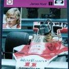 1977-1979 Sportscaster Card Auto Racing James Hunt 05-21