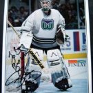 Hartford Whalers Hockey Team Photo  Sean Burke Autographed to Doris 11/16/95