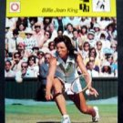 1977-1979 Sportscaster Card Tennis Billie Jean King 08-09