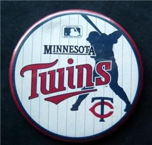 """Minnesota Twins Baseball Pin 3 1/4"""""""