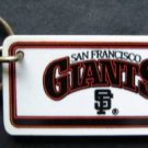 San Francisco Giants Plastic Key Chain Tag Express MLB 1992 2 1/4""