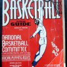1939-1940 Official Basketball Guide Book Splading's Athletic Library