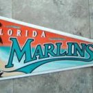 Florida Marlins Baseball Pennant 1990's Wincraft on cardboard Edition #1