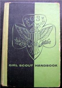 Girl Scout Handbook Intermediate Program Book 1953 Hardcover