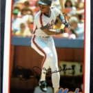1989 Topps Baseball Talk Card Darryl Strawberry New York Mets # 44