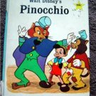 Disney's Pinocchio Book Golden Star Library 1967 # 6071