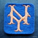 """New York Mets Baseball 2"""" Square Blue Patch"""