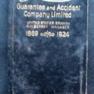 Vintage 1924 London Guarantee & Accident Company Limited Advertising Calendar