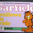 Garfield Swallows His Pride Book by Jim Davis 14th Book 1987 Ballantine