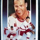 Gordie Howe Legends NHL Hockey Color Post Card #4 1st Series 1991 Paluso