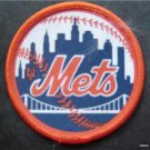 "New York Mets Baseball 2 3/4"" Round Cloth Patch"