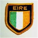 Ireland EIRE Flag Shield Crest Cloth Sew On PATCH