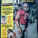 Sport Magazine November 1966 John Brodie Cover Boog Powell Jim Brown