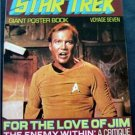 1977 Star Trek Giant Poster Book Voyage Seven 7 Kirk  Cover