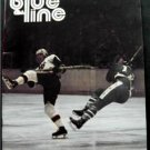 Blue Line WHA Hockey Magazine New England Whalers vs Indianapolis Racers Nov 77