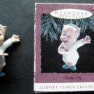1993 Hallmark Keepsake Ornament  Porky Pig  Looney Tunes  Handcrafted  Ornament
