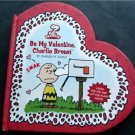 Be My Valentine, Charlie Brown Pop Up Book by Charles M. Schulz Hardcover 2007