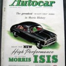 July 29 1955  Autocar Magazine Morris Isis ~Auto Racing ~Car Shows~Auto Articles