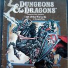 Dungeons & Dragons Companion Game TSR Test of the Warlords CM1 Char Levels 15 Up