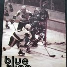Blue Line WHA Hockey Magazine New England Whalers vs Winnipeg Jets Dec 1977