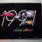 Vintage 1991 Classy Chassis Car Calendar ~ Tom's Used & Foreign Auto Parts
