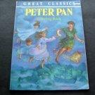 Great Classics Peter Pan Coloring Book 1993 Playmore Inc Canada