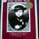 The Boys' War Civil War Book by Jim Murphy 1990 Childrens Non Fiction Illus