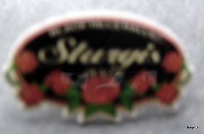 "Sturgis South Dakota 2005 Harley Motorcycle PIN Black Hills Rally 1 1/2"" Roses"