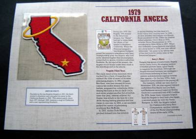 1979 California Angels Cooperstown Collection Baseball Patch