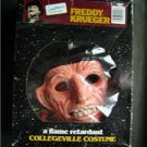 Freddy Krueger Nightmare On Elm Street Horror Collegeville Costume Rare MIB