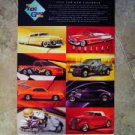 Vintage 1999 Top Gun Auto Car Calendar ~ Casher's New Haven DUPONT