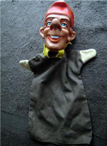 Vintage PUNCH Jester Hand Puppet