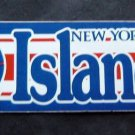 1989 New York Islanders NHL Hockey Bumper Sticker. Trench Mfg. Co