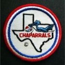 Texas Chaparrals ABA Basketball Logo Patch 3""