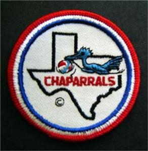 "Texas Chaparrals ABA Basketball Logo Patch 3"""