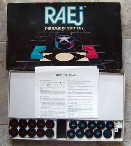 Raej The Game of Strategy 1986 Made in Canada Complete