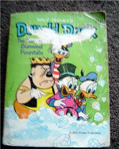 Disney's Donald Duck The Fabulous Diamond Fountain 1967 Big Little Book # 5756