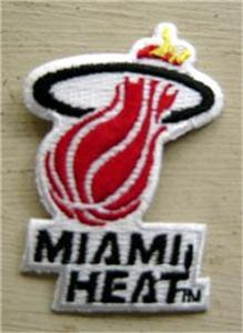 Miami Heat NBA Basketball Logo Patch 2""