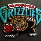 Vancouver Grizzlies Basketball NBA Cloth Patch 4 1/4""