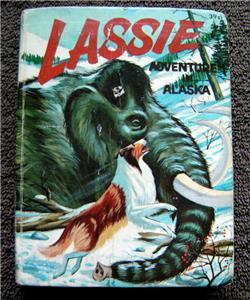LASSIE Adventure in Alaska Big Little Book by George S. Elrick 1967 # 2004